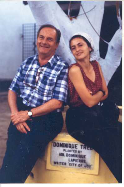 1997 INDIA with Dominique Lapierre