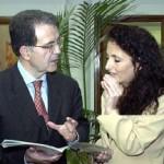 2004, Tunisi - Con Romano Prodi
