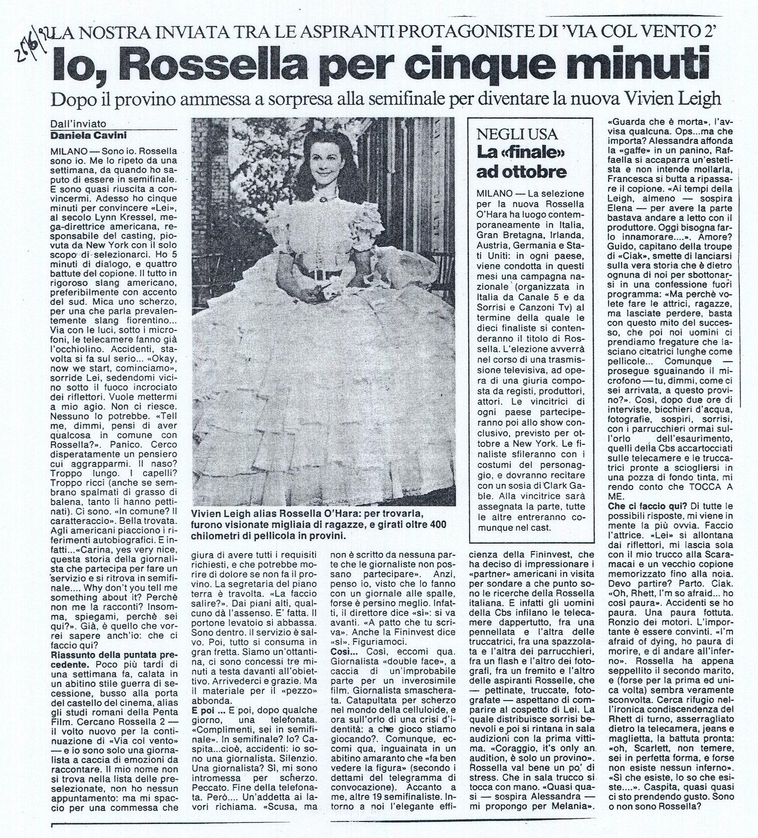 Io, Rossella per cinque minuti  06-92