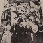 1° corso di Pedagogia Montessori 1909