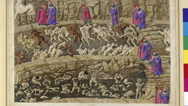 La Divina Commedia, Inferno XVIII